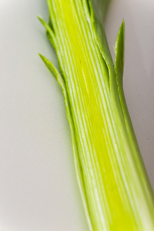 Leek cut