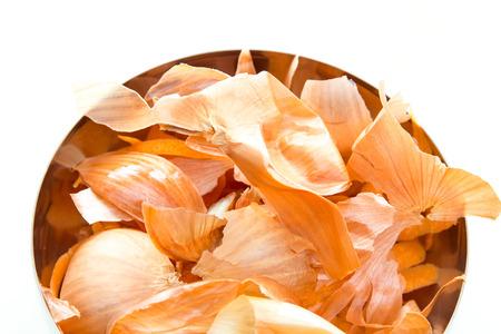Onion skins Stock Photo