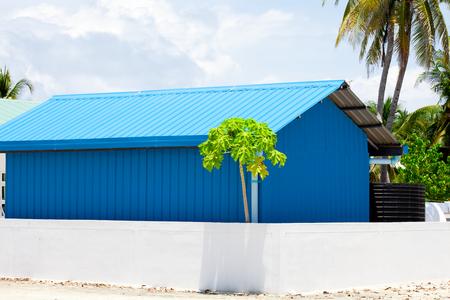 Holiday in maldives Stockfoto