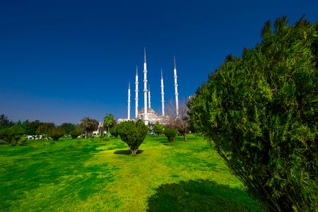 mosque minarets