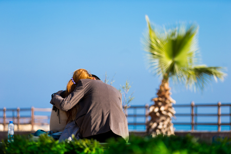 Love in park