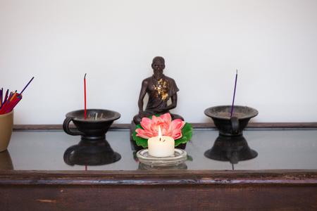 Décor bouddhiste Banque d'images