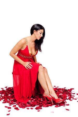 Beauty in Red Standard-Bild - 106883853