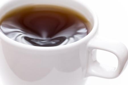 Hot coffee drink Stock Photo