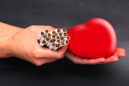 Quitting smoking strengthens the heart