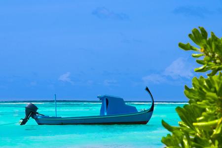 Boat in the ocean Stok Fotoğraf - 118087329