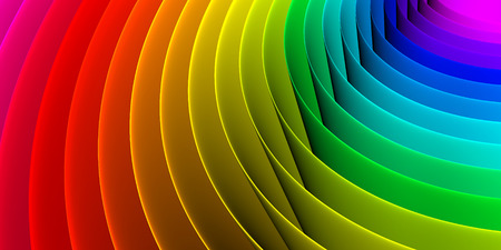 Colorful abstract spiral pattern background