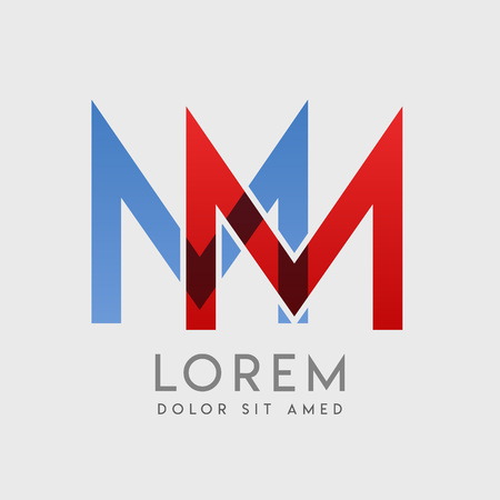 MM logo letters with