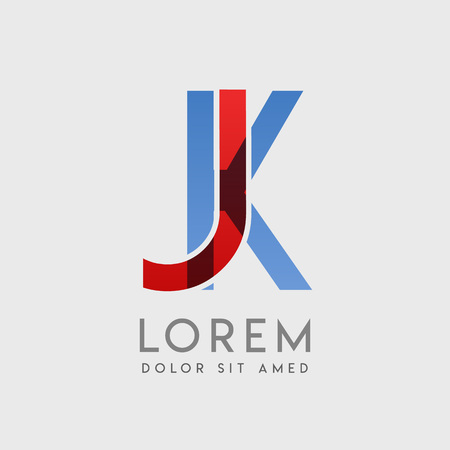 JK logo letters with