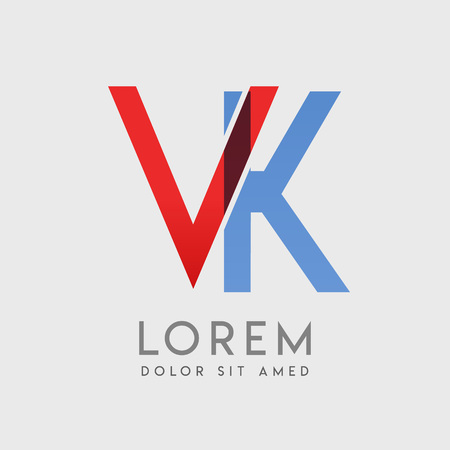 VK logo letters with