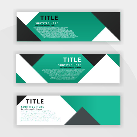 second Benner set is color dark green, suitable for professional companies. designed to be online like benner websites, advertisements and can be printed onto cards, flyers, brochures and others