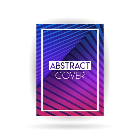 Simple and modern Cover  background designs can be used for companies and other businesses. Eps 10 and file size is less than 5MB. beautiful purple or pink color and suitable for magazines Illustration
