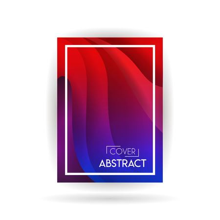 Minimal covers design. Colorful halftone gradients. Future geometric patterns. Eps10 vector Ilustrace
