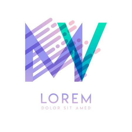 MV logo with the theme of galaxy speed and style that is suitable for creative and business industries. VM Letter Logo design for all webpage media and mobile, simple, modern and colorful