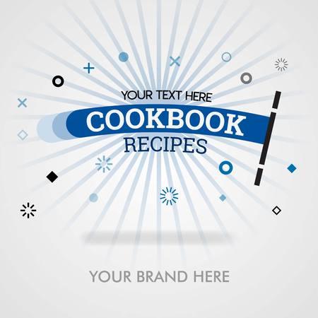 Page de couverture des recettes de livres de cuisine. recettes de livres de cuisine en amérique. recettes de livres de cuisine chinois. peut être pour la promotion, la publicité, les annonces, le marketing, la couverture, le magazine, le dépliant, la brochure, la bannière, le web et l'industrie alimentaire