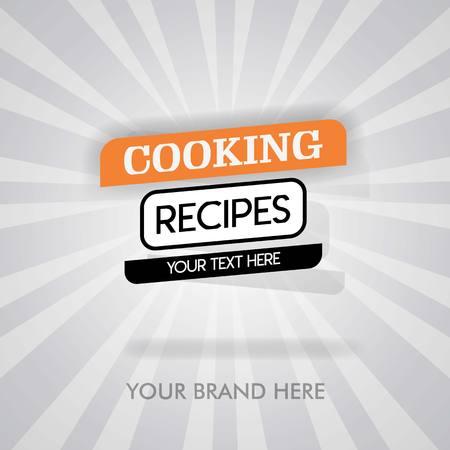 Cooking recipes untuk masakan cina. resep untuk makanan meksiko. cooking cover for cookbook. can be for promotion, advertising. suitable for print, newspaper, cover, magazine, flyer, brochure, banner Çizim