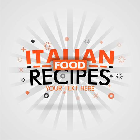 Italian food recipes with low carb best home cooked meals Ilustracja