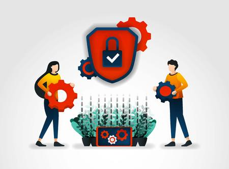 flat character. Security service provider companies provide security officer training to improve security service monitoring and reduce security threat for each product; tools and security mechanisms
