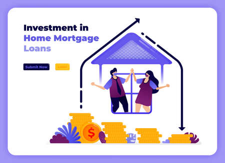 investment in family home loans with increase of long term returns.