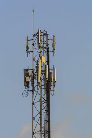 Mobile phone Telecommunication Radio antenna Tower. Фото со стока - 52941509