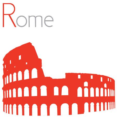 colosseum: Colosseum, vector illustration
