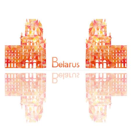 belarus: symbol of Belarus, vector illustration