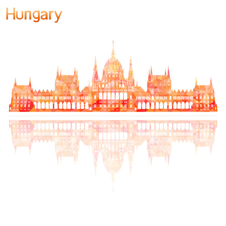 hungary: symbol of Hungary, vector illustration