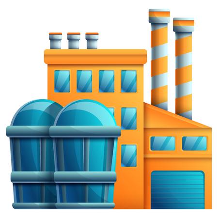 plant cartoon icon isolated on white background, vector illustration Ilustrace