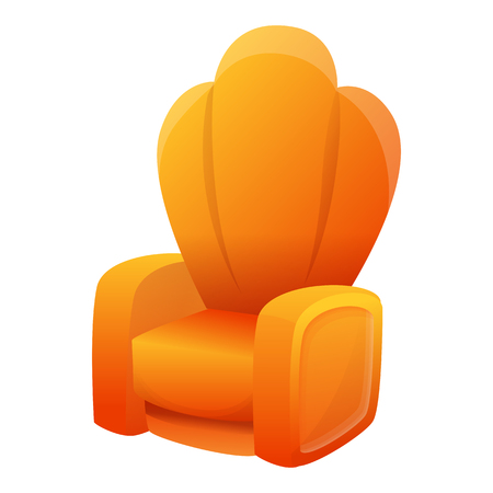 chair cartoon icon, vector illustration Ilustrace