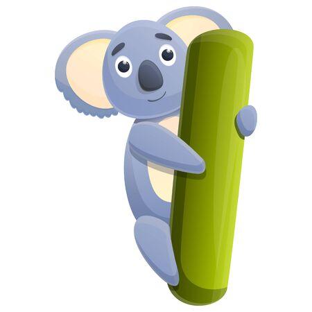 koala cartoon icon, vector illustration 스톡 콘텐츠 - 140289195