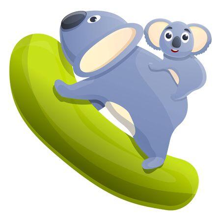 koala cartoon icon, vector illustration 스톡 콘텐츠 - 140289198