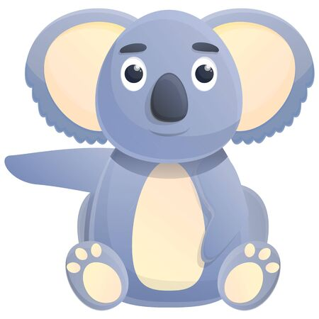koala cartoon icon, vector illustration 스톡 콘텐츠 - 140289199