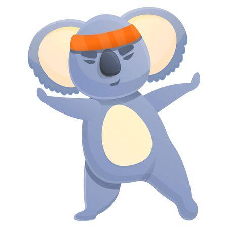 koala cartoon icon, vector illustration 스톡 콘텐츠 - 140289214