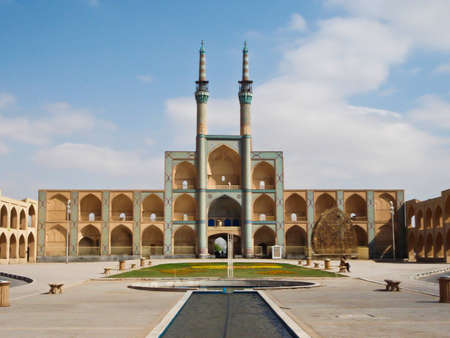 places of interest: Amir Chakhmaq Complex, Yazd, Iran Editorial