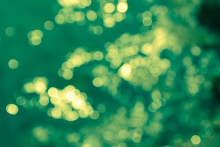 green Glitter Stock Photo