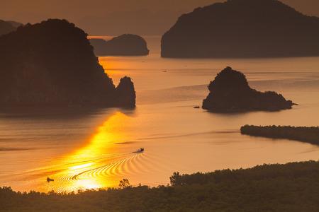 stargaze: Sametnangshe viewpoint  Phangnga Thailand