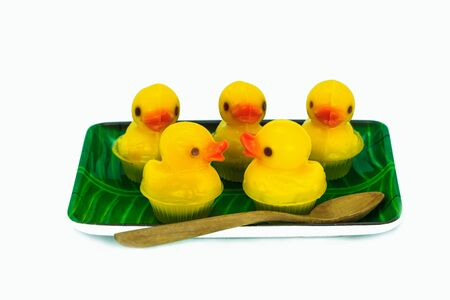duckie: Duckling cute delicious jelly snack.