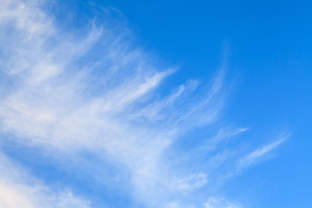 lurid: Blue sky and white clouds for beautiful  background.
