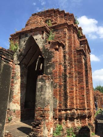 Wat Nakhon Luang, Prasat Nakhon Luang in Ayutthaya, old capital of Thailand
