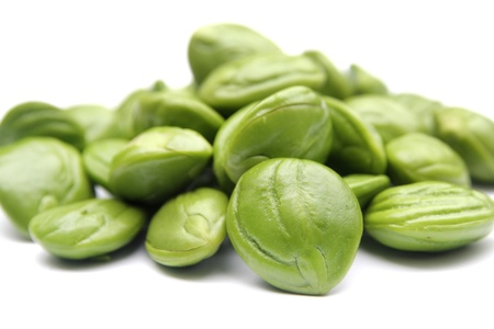 Petai, Bitter beans On White Backgound Stock Photo - 16181290