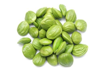 Petai, Bitter beans On White Backgound Stock Photo - 16419648