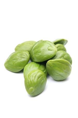 Petai, Bitter beans On White Backgound Stock Photo - 16419587