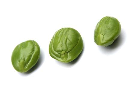 Petai, Bitter beans On White Backgound Stock Photo - 16419581