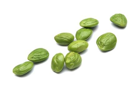 Petai, Bitter beans On White Backgound Stock Photo - 16419580