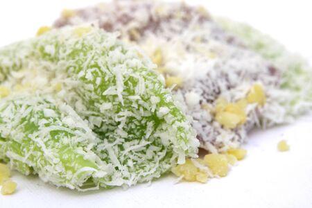 pap: Thai dessert , Tua Pap  Filled Wheat Flour Dumpling  Stock Photo