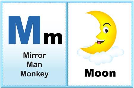alphabet lettre o avec clip-art et quelques mots similaires