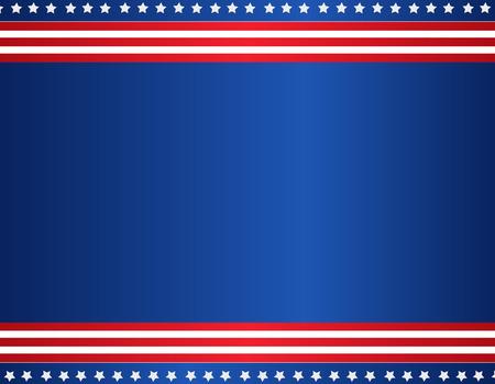 Sterren en strepen USA patriottische achtergrond / grens Stockfoto - 38529243