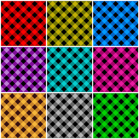home decorating: Seamless argyle patterns  textures in different colors for Thanksgiving, home decorating, napkins, tablecloths, picnics. arts, crafts and scrap books.