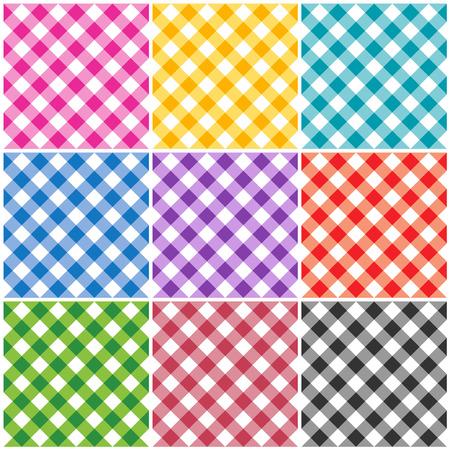 servilleta: Guinga patrones  texturas en diferentes colores para Acci�n de Gracias, la decoraci�n del hogar, servilletas, manteles, picnics. artes, artesan�as y libros de chatarra.