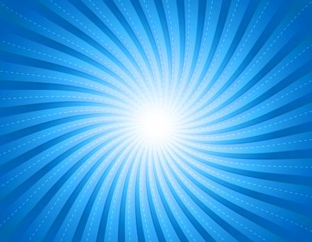 Elegant blue twirl  burst background & wallpaper